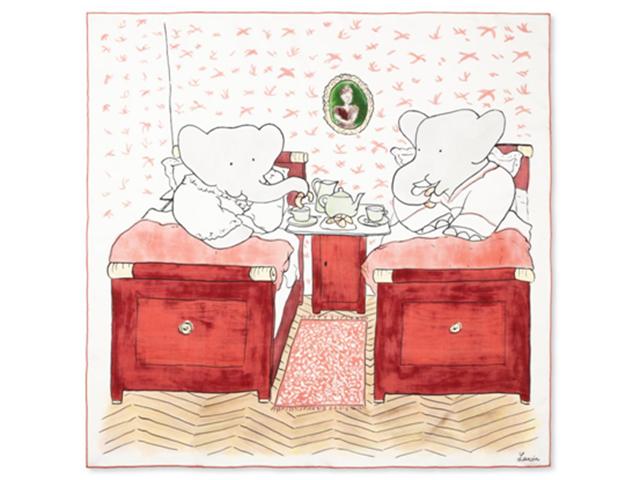 "LANVIN小象Babar胶囊系列全新上市和林彦俊一起为爱""型""动"
