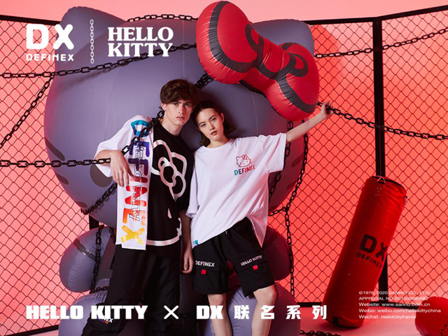 DX如何将风靡世界46年的二次元Hello Kitty带入潮流世界