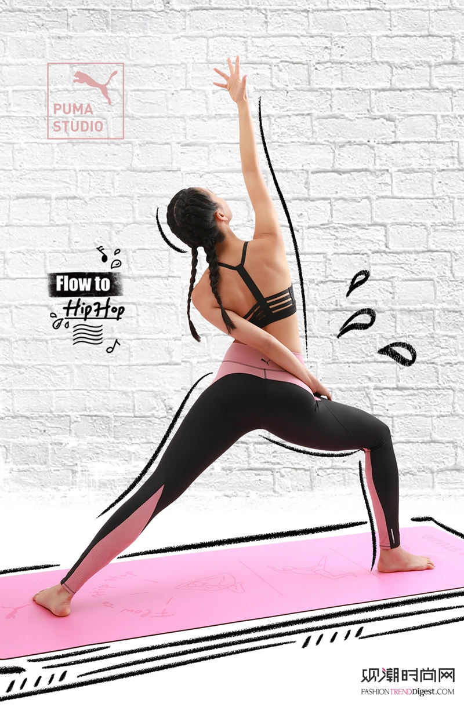 伸张你的美,嘻哈瑜伽探索多元...