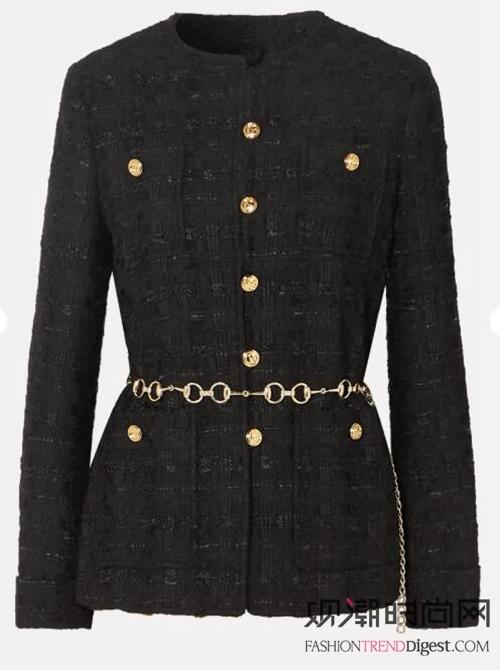 外套与裙子的搭配:深秋穿搭