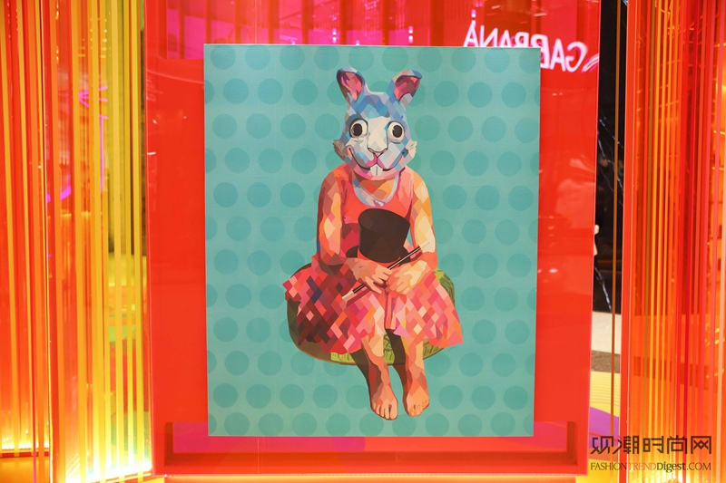 上海ifc商场 绚丽时尚艺术盛典