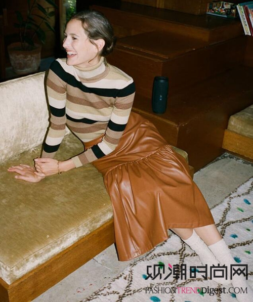 毛衣与裙子!你也可以美成这样