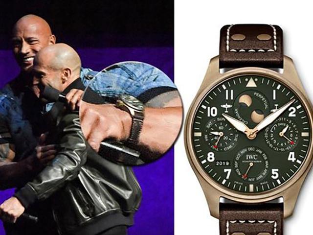 大表径、硬汉风才是适合肌肉猛男佩戴的腕表
