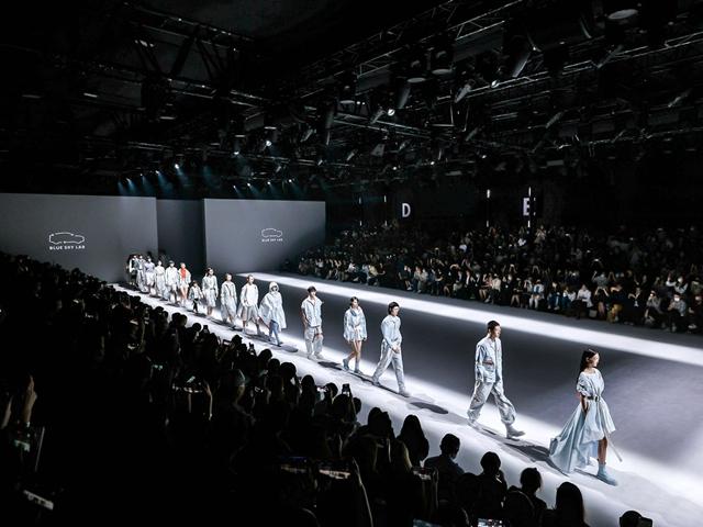 全新时尚环保品牌BLUE SKY LAB上海时装周全球首发