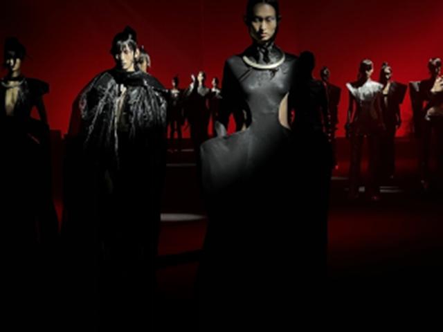东方未来   East Machina Istituto Marangoni Shanghai马兰戈尼上海联手中国设计欧敏捷亮相2022SS上海时装周