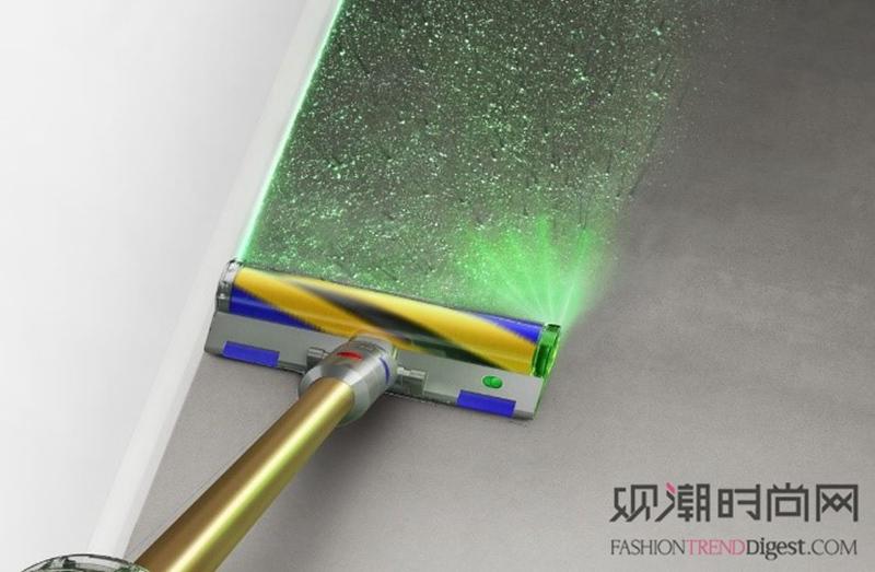 以激光科技革新清洁体验,灰尘...