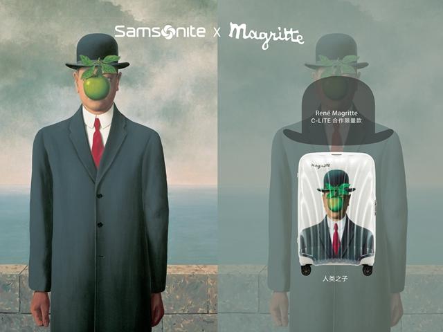 超越梦境,突破次元 联名超现实主义大师René Magritte画作 Samsonite发布全新C-Lite x Magritte限量款旅行箱