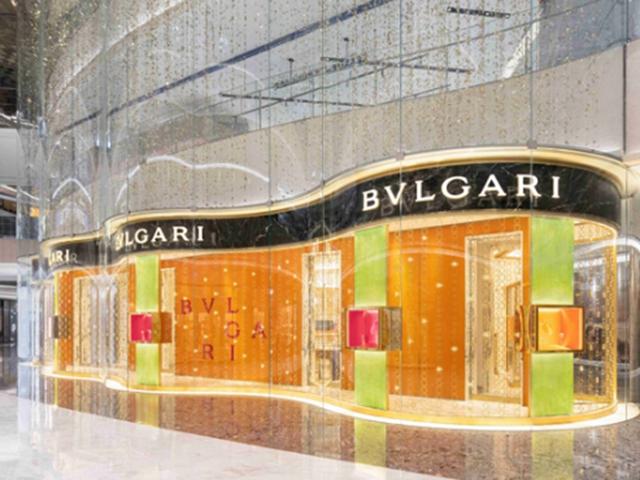 BVLGARI宝格丽Serpenti蛇形灯光艺术装置 闪耀杭州万象城