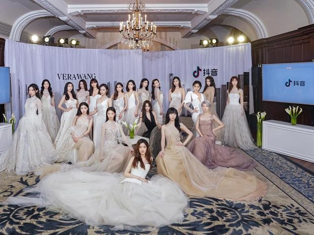 百位抖音女孩VERA WANG婚纱Trunk Show开启 全新时尚风slay上海滩