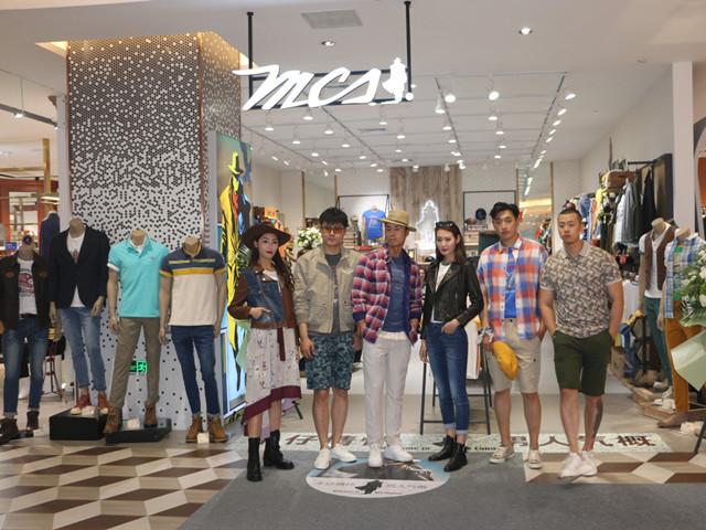 """MCS品牌和飙风雷骑俱乐部联合举办的""""太原春日古城骑行活动"""""""