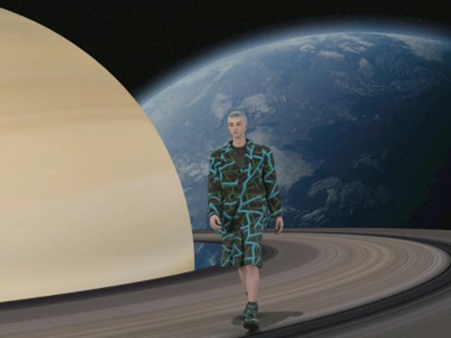 炸翻天!迪拜时装周的MetaHuman时装秀