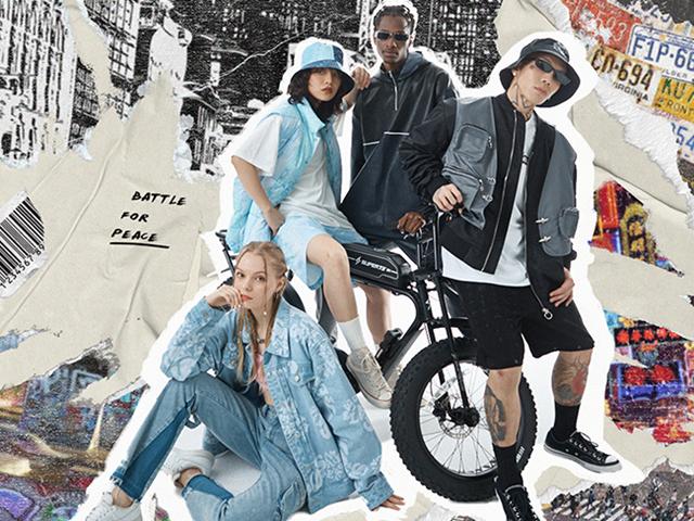 「上阵」by KUMY x 这是街舞4 联名系列于7月23日正式上线