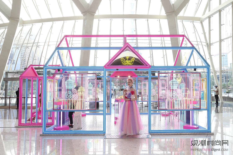 上海ifc商场 夏日奇趣虚拟...