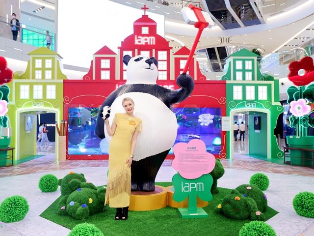 环贸iapm商场 妙「8」可言 8周年庆典正式启幕   AR画廊 魔法涂鸦 裸眼3D大屏 打造夏日∞趣玩季 八重缤纷购物赏  玩转购物新体验