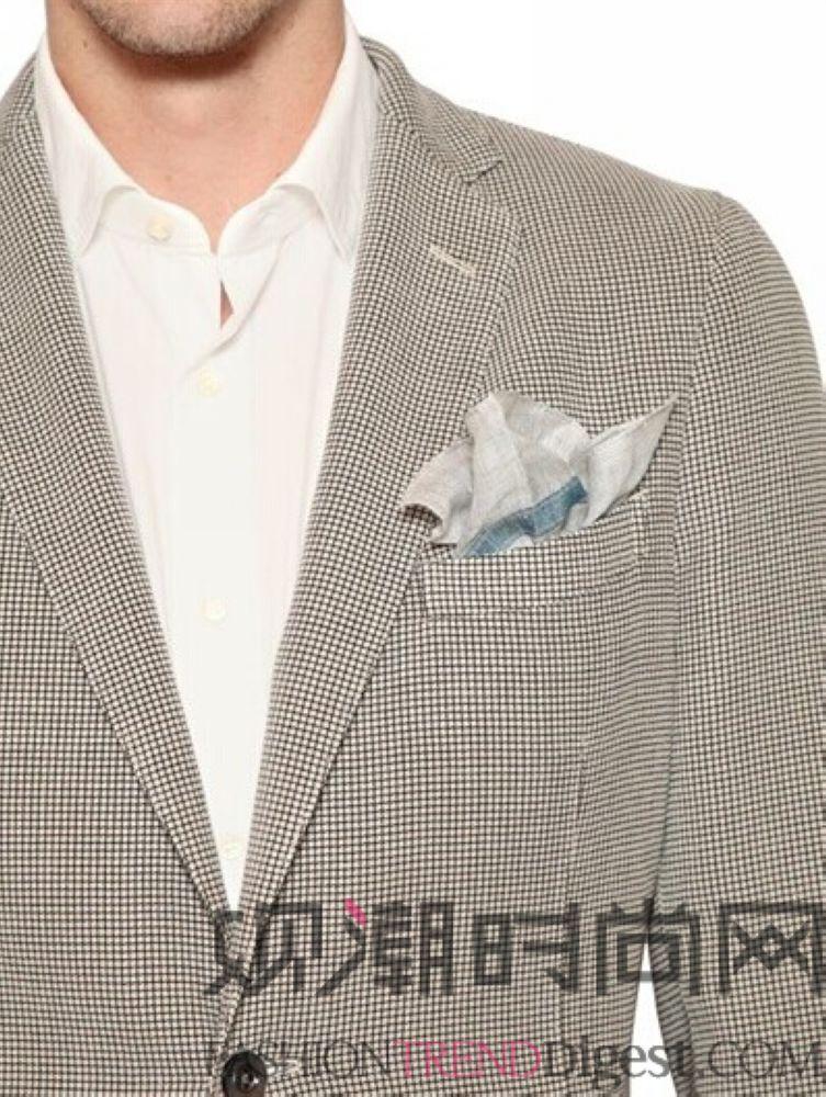 男衬衫领巾的系法图解