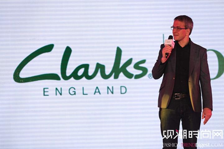 Clarks亚太区总裁Andrew Martland 先生首次参与中国地区新闻发布会