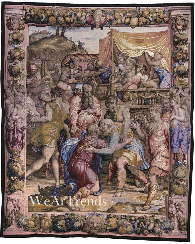 """Gucci致力投身意大利艺术""""复兴工程"""" 赞助艺术毛毯展览"""