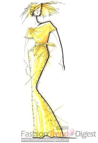 婚纱上的老东西是属于维多利亚的裙子;新东西是全新设计的婚