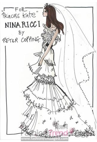 婚纱的头纱图片铅笔画