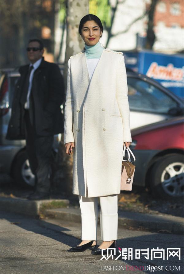 怎么穿都不出错的高领毛衣
