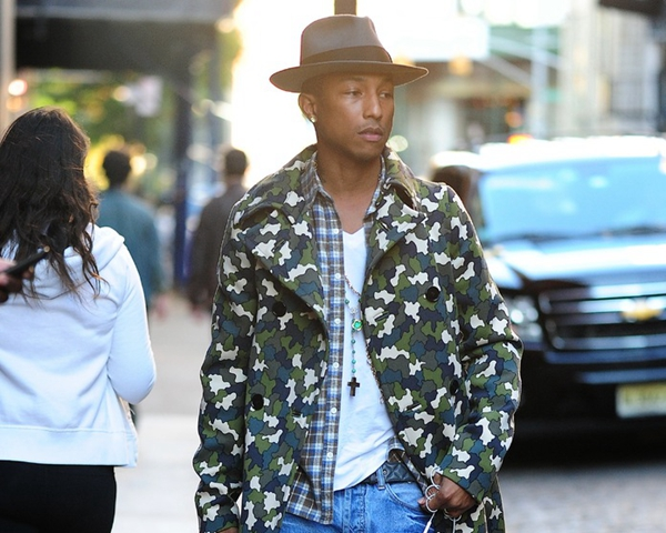 ���ֳ��� Pharrell Williams ��ʱ��֮·