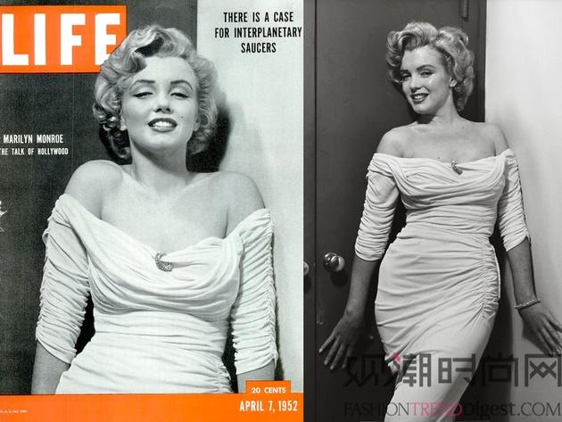 经典的时尚杂志封面