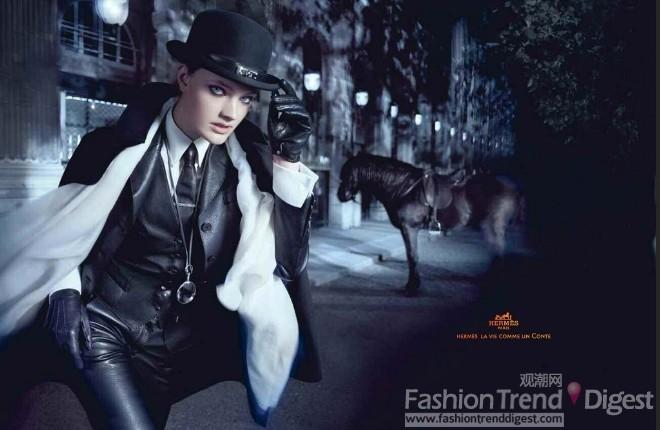 Hermès 2010秋冬广告高清图片